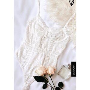 Lulus lace bodysuit